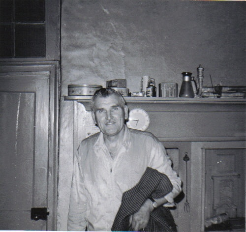 Hal in the kitchen at Pond Hall