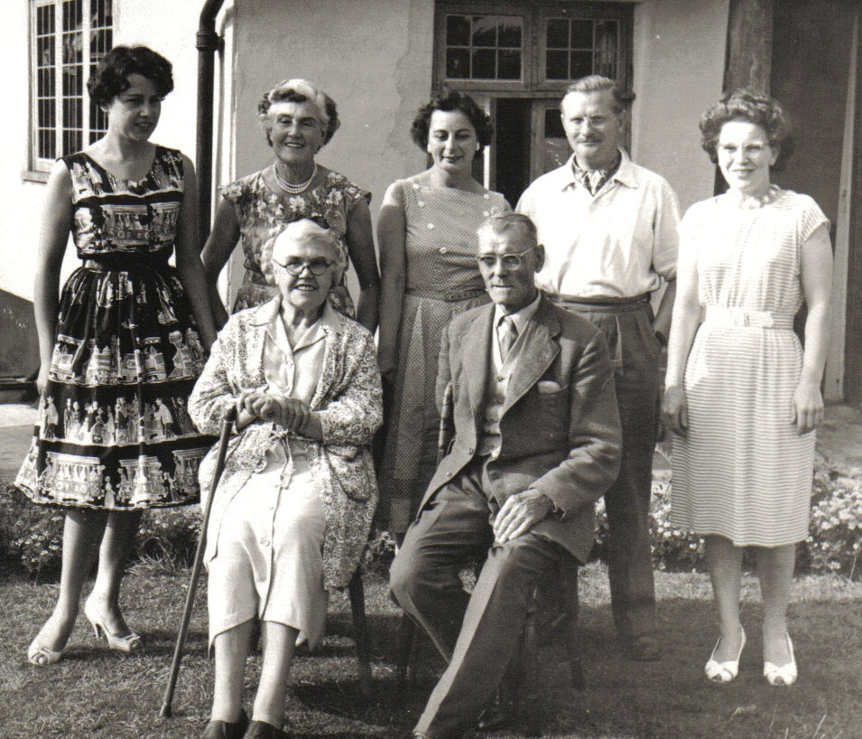Family group at Raydon 1960
