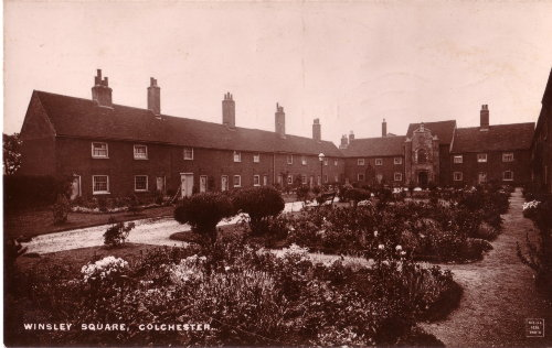 Winsley Square Almshouses